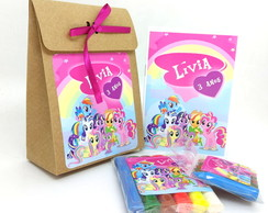 Kit Colorir e Modelar com Sacolinha - My Little Pony
