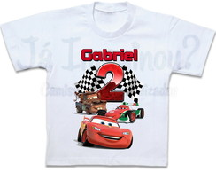 Camiseta Carros McQueen Mate Francesco
