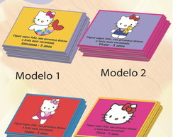 Tag frente Hello kitty 7x5