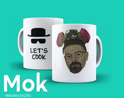 Caneca Breaking Bad - Let's Cook