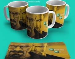Caneca Breaking Bad - Walter and Jessie