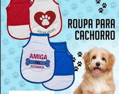 Camiseta Tal Mae Tal Pet (mae De Cachorro) 1 Adulto E 1 Pet