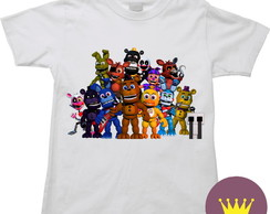 Camiseta Infantil Five Nights at Freddy's 35
