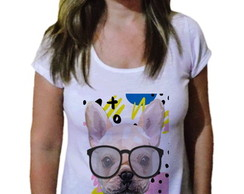 Camiseta Feminina french bulldog Fashion