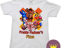 Camiseta Infantil Five Nights at Freddy's 43