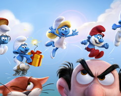 Painel 1x0,65 Smurf