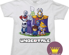 Camiseta Infantil Undertale Game 01