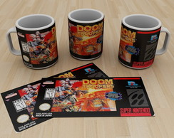 Caneca Super Nintendo Doom Troopers