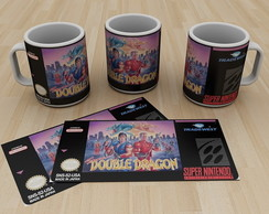 Caneca Super Nintendo Double Dragon