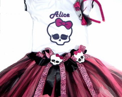 Conjunto de Tutu Monster High