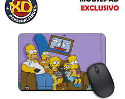 Mousepad Emborrachado Os Simpsons