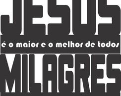 Adesivo De Frase Jesus Elo7
