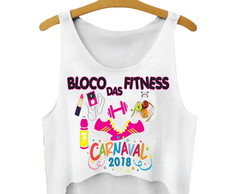 Cropped Carnaval Bloco das Fitness