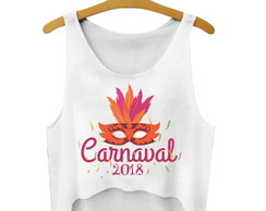 Blusa Cropped Carnaval 2018