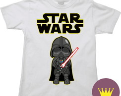 Camiseta Infantil Star Wars Darth Vader 01