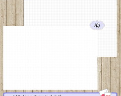 Kit Digital - Insert para Planner Argolado A5 Bullet Journal