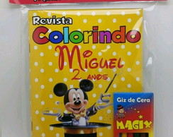 Revista colorir Mickey Mágico