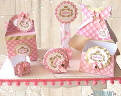 FESTA PRINCESA REALEZA KIT C/ SCRAP