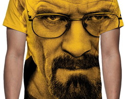 Camiseta Série Breaking Bad - Heisenberg Face