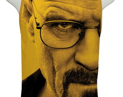 Camiseta Série Breaking Bad - Heisenberg Face - Regata