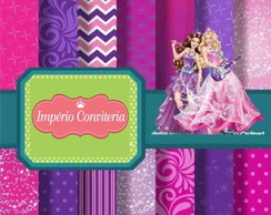 Kit Digital Scrapbook Barbie 3