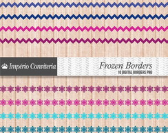 Kit Digital Scrapbook Bordas 11