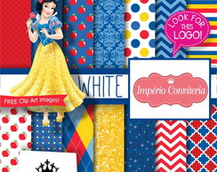 Kit Digital Scrapbook Branca de Neve 3