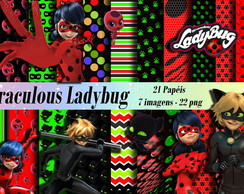Kit DIGITAL Miraculous Ladybug