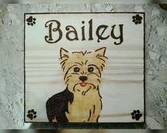 Quadro Decorativo para pet yorkshire