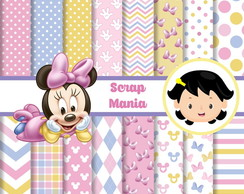 Papel Digital - Minnie Baby 01