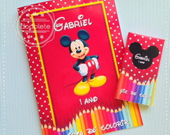 Revista de Colorir Mickey