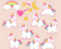 Kit Scrapbook Unicornio