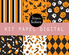 Kit Papel Digital Halloween