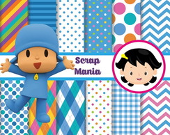 Papel Digital - Pocoyo 01