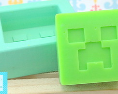 Forma de silicone Mine Craft