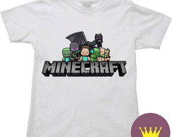 Camiseta Infantil Minicraft. Game 01