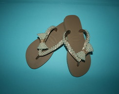 Chinelo Havaiana Top Rose Gold
