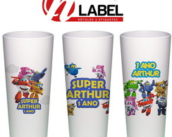 Copo Long Drink SuperWings