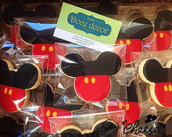 Biscoitos decorados Mickey