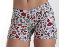 Short fitness estampado