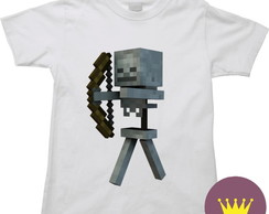 Camiseta Infantil Minicraft Game 12