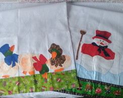 KIT PANO DE PRATO PATCHWORK