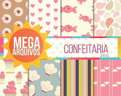 Papel digital Confeitaria