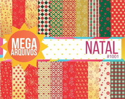 1001- Papel digital natal