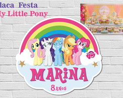 My Little Pony Placa Arco-íris LUXO