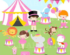 Kit Digital Scrapbook Circo 11