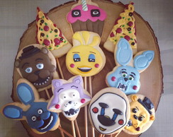 Biscoito Decorado Five Nights at Freddy's