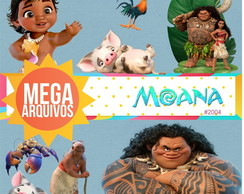 Mega Kit digital PNG - Moana