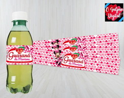 Rótulo de Guaraná Minnie Rosa