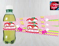 Rótulo de Guaraná Peppa